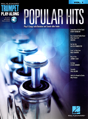 Popular Hits Vol.1 - Play 8 songs with notation and sound - alike Audio