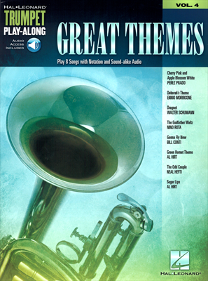 Great Themes Vol.4 - Play 8 Songs with Notation and Sound-alike Audio