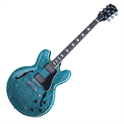 GIBSON ES-335 Ηλεκτρική Κιθάρα Figured Turquoise Nickel Hardware