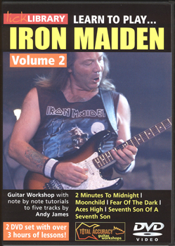Lick Library Learn to Play Iron Maiden Vol 2