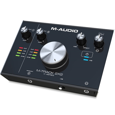 M-AUDIO M-Track 2X2 USB Kάρτα Ήχου